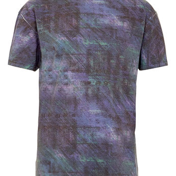 Multi All Over Pattern T-shirt - View All - New In - TOPMAN