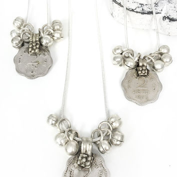 Traders Charm Pendant Necklace