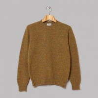 Jamieson's Brushed Lambswool Crew Neck (Autumn) | Oi Polloi