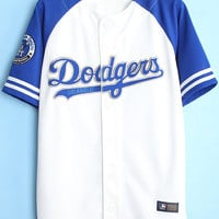 Blue Dodgers Jacket