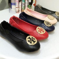 Tory Burch Sandle Women Fashion Leisure PU Shoes B-XYXY-HD Five Color