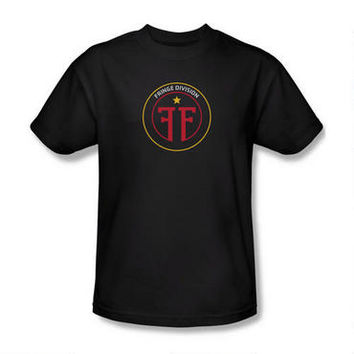 Fringe Division Adult Black T-shirt | WBshop.com | Warner Bros.