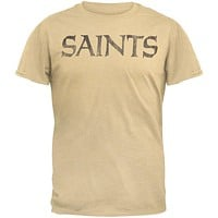 New Orleans Saints - Logo Scrum Legacy Premium T-Shirt