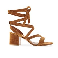 Janis Low Wrap Sandal Sandals - Gianvito Rossi Official eShop