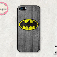 Batman iPhone 5 Case, iPhone 5s Case, iPhone Case, iPhone Hard Case, iPhone 5 Cover, iPhone 5s Cover