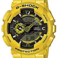 Casio G-Shock Mens Watch - Yellow Case & Strap - Magnetic Resistant