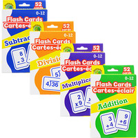 Bulk Math Flash Cards at DollarTree.com