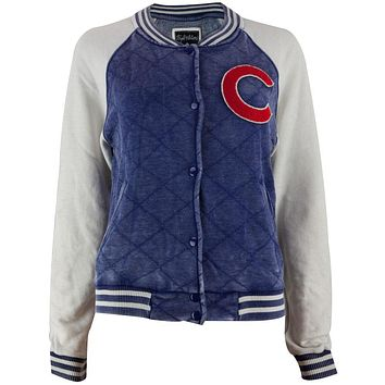 c5fa1bee333 Chicago Cubs - Logo Brownstein Juniors Baseball Jacket