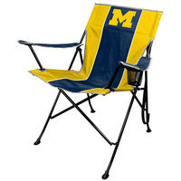 Michigan Wolverines NCAA Tailgate Chair and Carry Bag
