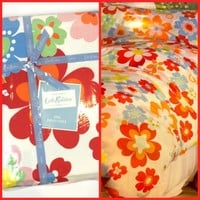BRAND NEW CATH KIDSTON KING DUVET COVER POP RED FLORAL
