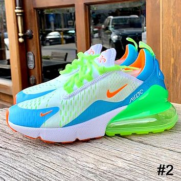 NIKE AIR MAX 270 tide brand female half palm cushion sports shoes #2