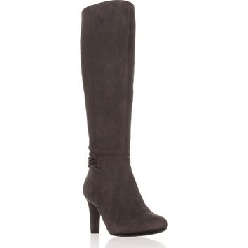 Bandolino Lamari Knee-High Fashion Boots, Dark Grey, 7.5 US