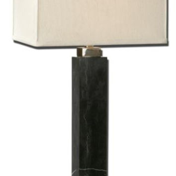 Table Lamp - Black Marble Base