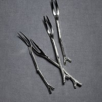Offshoot Cocktail Forks in  the SHOP Decor Tabletop at BHLDN