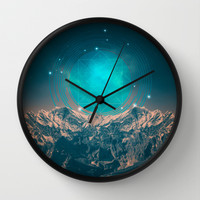 Made For Another World Wall Clock by Soaring Anchor Designs