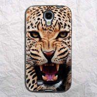 Cheetah Roar Face Samsung Galaxy S4 Case
