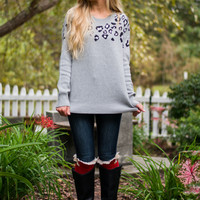 Purr-fect Sweater, Gray