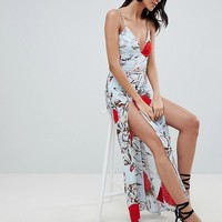 Parisian Tall Floral Maxi Dress at asos.com