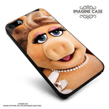 the muppets miss piggy case cover for iphone, ipod, ipad and galaxy series