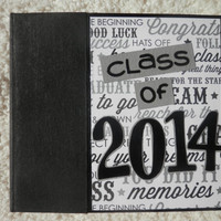 6x6 Class of 2014 Graduation Scrapbook Photo Album