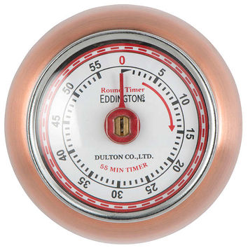 Eddingtons Retro Copper Kitchen Timer at John Lewis
