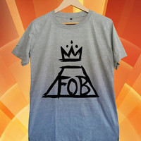 fall out boy New Hot T-shirt Gildan G200L Woman and Mens Sport grey Size S-M-L-XL-XXL