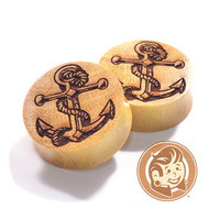 Anchor Saba Wood Plugs