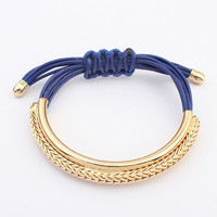 Golden Rope Bracelet - FREE SHIPPING!