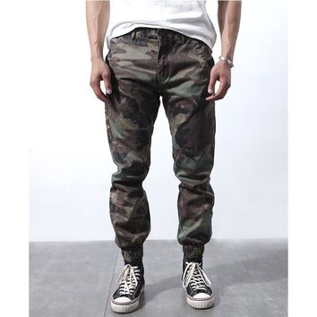 Streetwear Vintage Camuflado Cargo Pants Men Casual Camouflage Pepe Jogger Trousers 2017 Mens Clothing