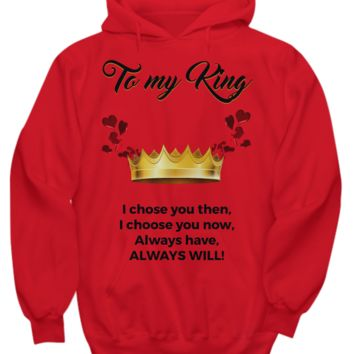 TO MY KING