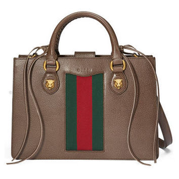 Gucci - Gucci Animalier leather top handle bag