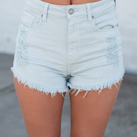 California Roots High Rise Cut Off Shortie Lulu Short (Chill)