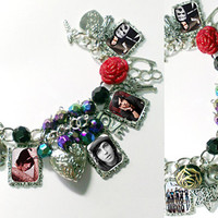 Sleeping With Sirens   Kellin Quinn  charm bracelet