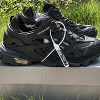 Balenciaga Trainers Track 2 In Black Sneakers - Best Online Sale