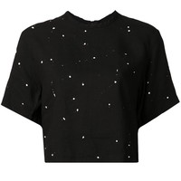 Rag & Bone splatted crop top