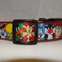 Dog Collar InSpirEd by * Looney Tunes * Adjustable Buckle Collar OR Martingale Collar*