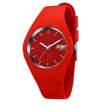 Silicone Bracelet Waterproof Wrist Watch