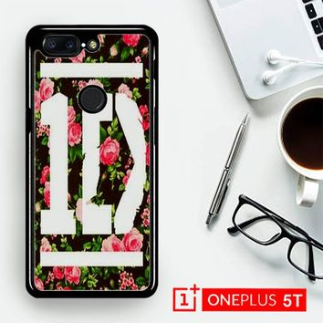 1D One Direction Floral V0288  OnePLus 5T / One Plus 5T Case