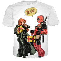 deadpool TA-DA! shirt