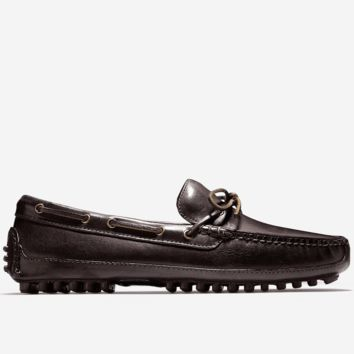 Grant Canoe Camp Driving Loafer in T Moro Dark Brown by Cole Haan