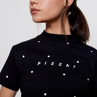 Lazy Oaf Pizza T-Shirt - Everything - Categories - Womens