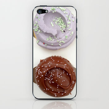hello cupcake  iPhone & iPod Skin by Sammi