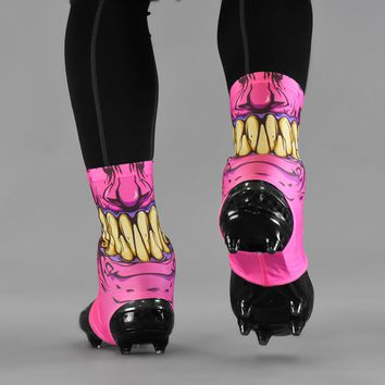 Gunk Pink Spats / Cleat Covers