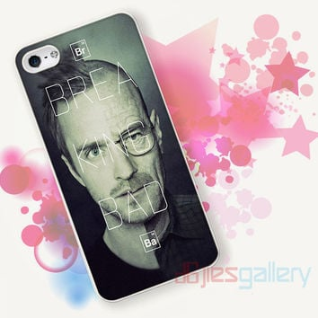 Breaking Bad Split Face for iPhone 4/4S, iPhone 5/5S, iPhone 5C, iPhone 6 Case - Samsung S3, Samsung S4, Samsung S5 Case
