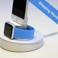 Apple Watch and iPhone Night Stand