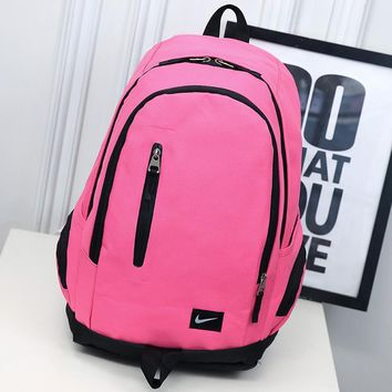 Nike Casual Shoulder Bag School Backpack Travel Bag-5