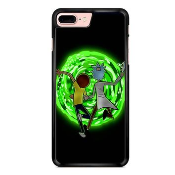 Rick And Morty Portal 2 iPhone 7 Plus Case
