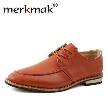 New Fashion Leather Men Oxford Shoes