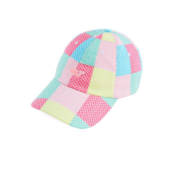 Whale Patchwork Baseball Hat