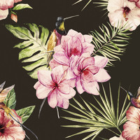 Plentiful Plumeria Removable Wallpaper